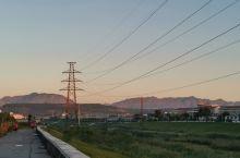 西沙河晨光