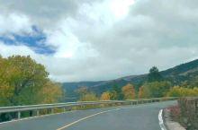 滇藏线秋天路上的风景