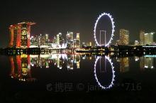 新加坡滨海湾夜景