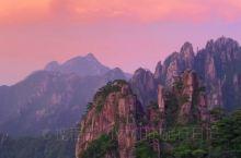 黄山日落|这是我见过最美的日落