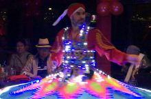 埃及尼罗河上的光电之舞太精彩了