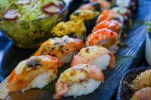 三亚海上餐厅,一边吃海鲜一边欣赏日落