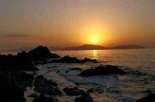 志賀岛,观日落