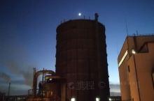 鞍钢厂区夜色
