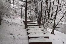 下了几天的雪,好漂亮啊~