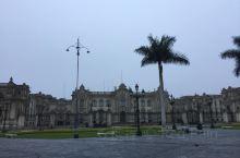 清晨的秘鲁利马中心广场