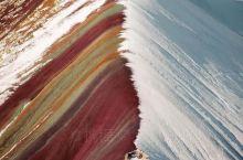 秘鲁彩虹山打翻了上帝的调色板