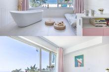 威海海景浴缸民宿 步行海边