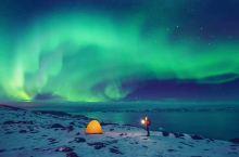 灿烂美丽的光辉-冰岛极光 听说许愿很灵哦
