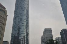 大气商务区街景