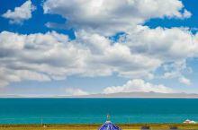 夏天的青海湖畔