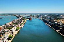 航拍阿姆斯特丹,荷兰第一大城市,一座漂浮在水面上的城市!