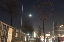 元宵节的月亮