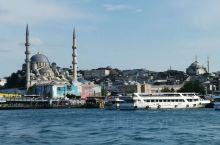 土耳其的最后一天,选择乘船游览金角湾和博斯普鲁斯海峡,1:30出发时天有点阴,还担心下 伊斯坦布尔·