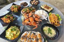辽宁丹东獐岛林家农家院,这会的海鲜才肥美