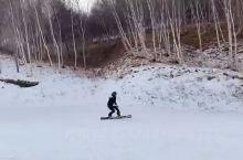 女生滑雪才是真的帅