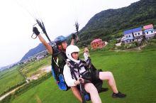 女神飞行节丨黑麋峰滑翔伞体验记录,天空上