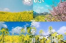 婺源旅游攻略赏春三天两夜油菜花之旅