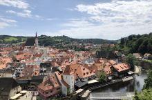 美丽的小镇。
