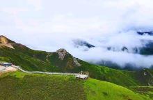 阿坝雪山梁观景台