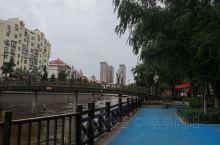 海泊河雨后