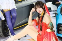 北京国展车模cosplay秀