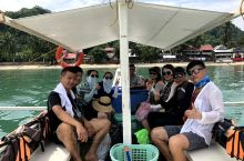 我在Corong Corong海滩