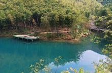 九寨沟的景色在莫干山也同样能看到