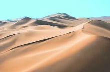 配上音乐的腾格里沙漠