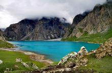 新疆乌孙古道天堂湖绝美风光