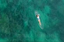这里是海南东边一座无人岛屿——加井岛。它有如玻璃般透明的海面。