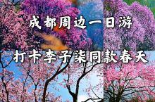 """就藏在成都周边""""李子柒""""同款春天"""