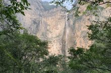 亚洲最高瀑布,314米云台天瀑