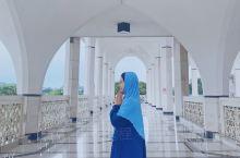 马来西亚|一处小众又治愈的蓝色清真寺