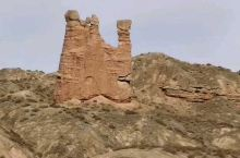 甘掖风化石