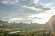 丹霞山日落美景