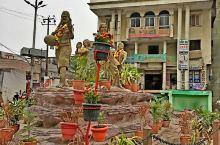 瓦拉纳西城市风貌(印度)