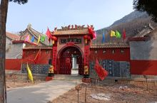 local temple with new decorated gate.