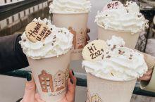 荷兰·阿姆斯特丹 少女心爆棚的咖啡甜品
