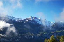 瑞士的阳光小镇茵特拉根