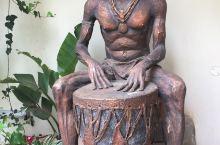 内罗毕酒店内的雕像