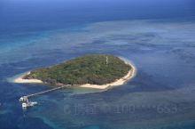 澳大利亚大堡礁,空中鸟瞰。