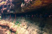 云台山红石峡,拍摄于2017年秋天。