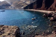 圣托里尼岛红沙滩