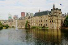 荷兰国会大厦外景。