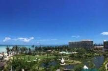 美丽的塞班岛。