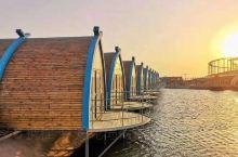 月坨岛荷兰风情小木屋