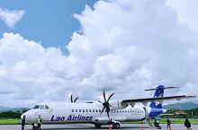 老挝万象都是小飞机坐着有点恐怖啊