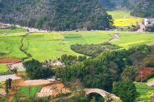万峰林—峰林中的田园风光