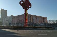 美丽的绥芬河,因疫情,目前大量人员外迁,外面街道人员稀少。